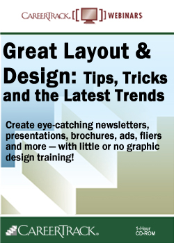 Great Layout & Design: Tips, Tricks and the Latest Trends - Graphic Design Webinar