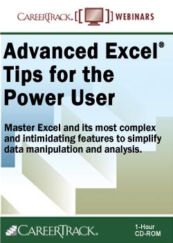 Advanced Excel Tips for the Power User webinar