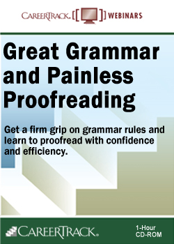 Great Grammar and Painless Proofreading