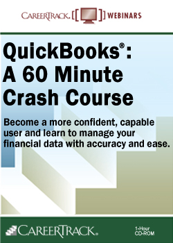 Online QuickBooks Training Course:  A 60-Minute Crash Course
