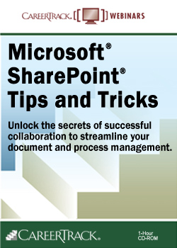 Microsoft® SharePoint® Tips and Tricks - A SharePoint Training Course