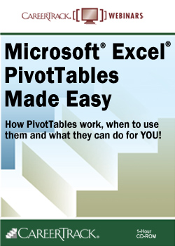 PivotTable Training Course - Microsoft Excel PivotTables Made Easy
