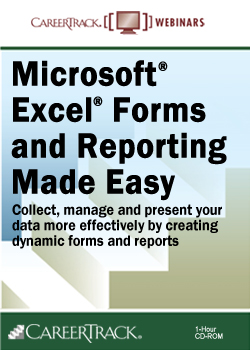 Microsoft® Excel® Forms & Reporting Made Easy Training Course