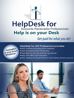 HelpDesk for Accounts Receivable Professionals