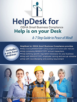 HelpDesk for OSHA Small Business Compliance