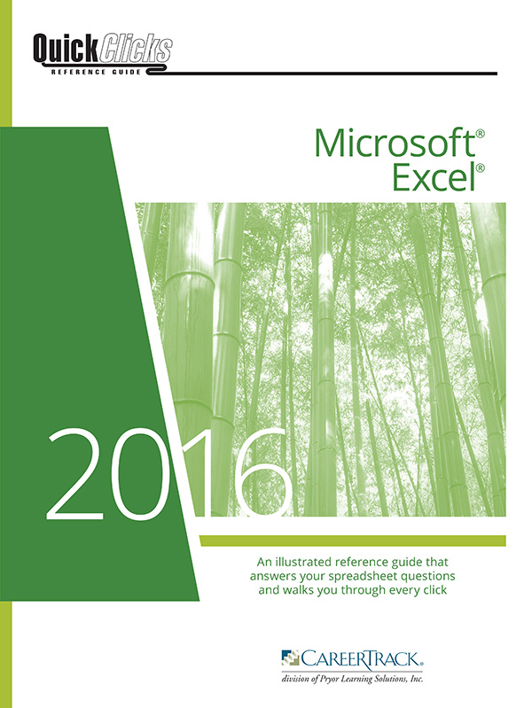 QuickClicks Excel 2013 Downloadable