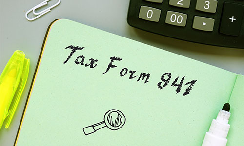 Form 941 and COVID-19 Related Tax Credits