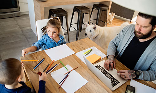 Tips for a Successful Home Office with Kids in the House