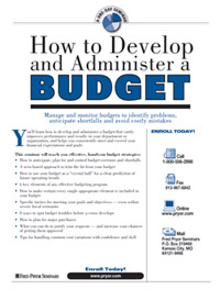 How to Plan and Monitor a Budget