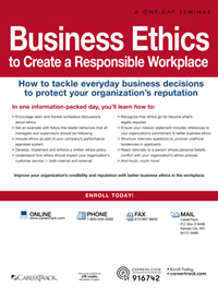 Business Ethics to Create a Responsible Workplace