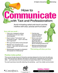 How to Communicate with Tact and Professionalism (2-day)