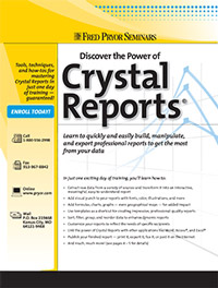 Discover the Power of Crystal Reports<small><sup>®</sup></small>