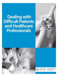 Dealing with Difficult Patients and Healthcare Personnel