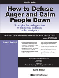 How to Defuse Anger and Calm People Down