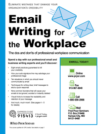 Email Writing for the Workplace