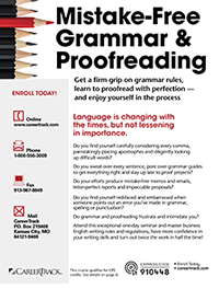 Mistake-Free Grammar & Proofreading