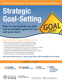 Strategic Goal-Setting
