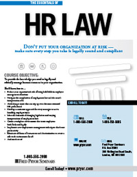The Essentials of HR Law Canada
