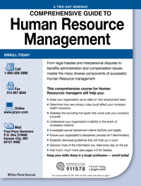 Comprehensive Guide to Human Resource Management (2-Day)