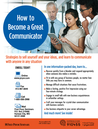 How to Become a Great Communicator