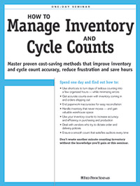 How to Manage Inventory & Cycle Counts