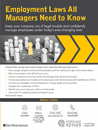 Employment Laws All Managers Need to Know