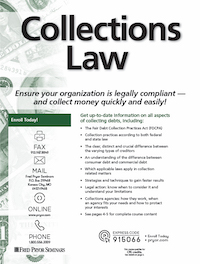 Collections Law