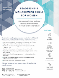 Leadership & Management Skills for Women