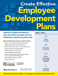 Create Effective Employee Development Plans