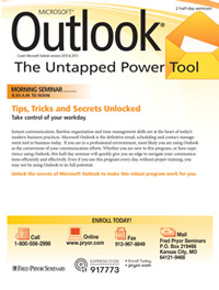Outlook<small><sup>®</sup></small>: Tips, Tricks and Secrets Unlocked