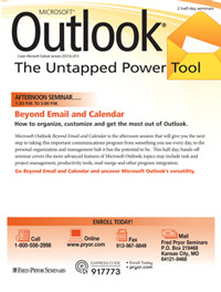 Outlook<small><sup>®</sup></small>: Beyond Email and Calendar