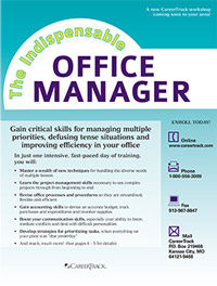 The Indispensable Office Manager