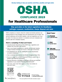 OSHA Compliance for Healthcare Professionals