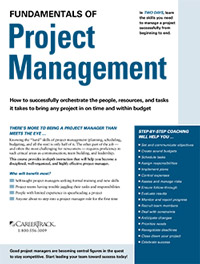 Fundamentals of Project Management (2-Day)