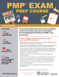 PMP<small><sup>®</sup></small> Exam Prep Course (5-day)