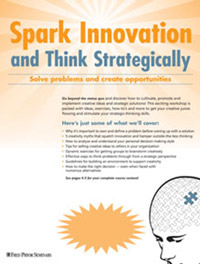 Spark Innovation and Think Strategically