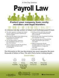 Payroll Law