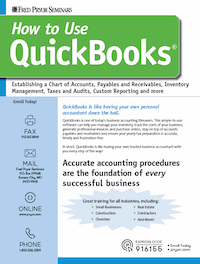 How to Use QuickBooks<small><sup>®</sup></small>