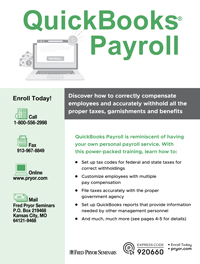 QuickBooks<small><sup>®</sup></small> Payroll