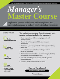 Manager's Master Course (2-day)