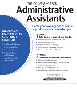 The Conference For Administrative Assistants   Secretary Training | Pryor  Learning Solutions  Administrative Assistant